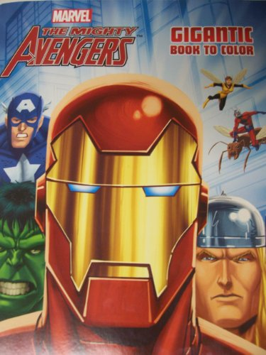 Marvel the Mighty Avengers Gigantic Coloring & Activity Book ~ Protecting Mankind! (224 Pages)