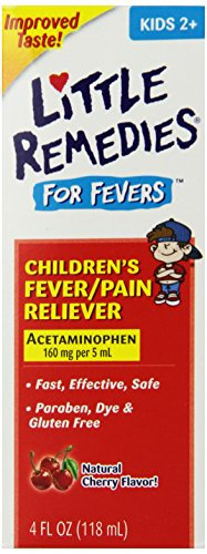 Little Remedies Child Fever/Pain Reliever, Cherry Flavor, 4 Ounce front-679188