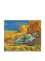 ZARTE DAL MONDO Pintura al Óleo sobre Lienzo Van Gogh Riposo Di Mezzogiorno