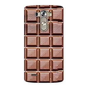 Luxirious Delicious Choco Back Case Cover for LG G3