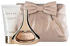 Guerlain Idylle Gift Set for Women (Eau de Parfum Spray, Body Lotion, Bag)