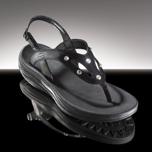 "TV Das Original WALKMAXX Fitness-Sandale ""Crystal"", ""black crystal"", 37"