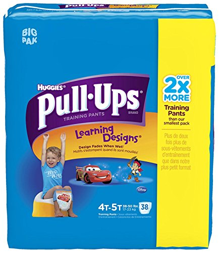 Huggies Pull-Ups Training Pants - Learning Designs - Boys - 4T-5T - 38 ct - 1