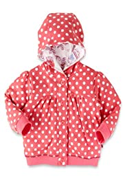 Pure Cotton Hooded Spotted Jacket [T78-3896Q-Z]