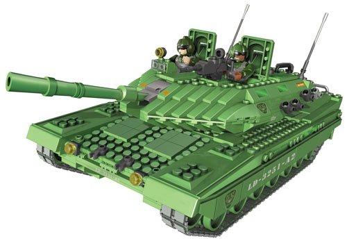 Mega Bloks 3251 – Micro Leopard 2 Tank als Geschenk