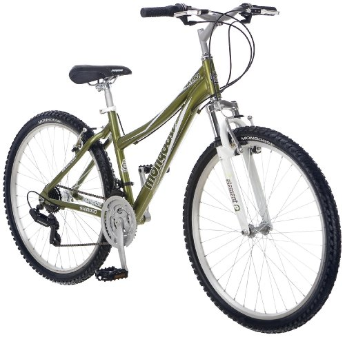 Mongoose Women's Montana Bicycle (Light Metallic Green)