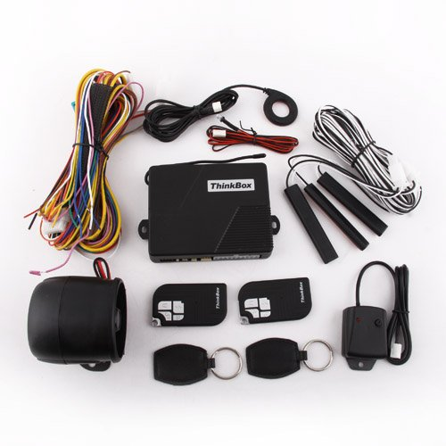 Pke-N003A Auto Remote Passive Keyless Entry Car Security Alarm + Backup Rfid System, Rescure Keys Emergency Unlocking