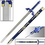 Legend of Zelda Link Master Sword of Time - Real Carbon Steel Version from SwordsAxe