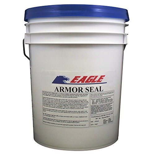 Eagle Sealer EA5 Clear Armor Seal, 5 gal Pail,(Not Sold in HI, PR, AK, GU, VI) (Concrete Sealer Clear compare prices)