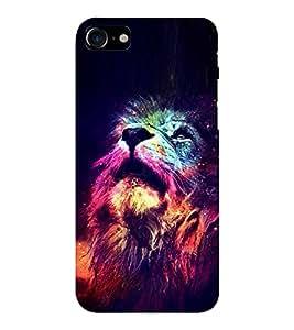 EPICCASE Majestic lions Mobile Back Case Cover For Apple iPhone 7 (Designer Case)