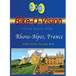 Bike-O-Vision Cycling Journey- Rhone-Alpes, France (Bluray #28) [Blu-ray]