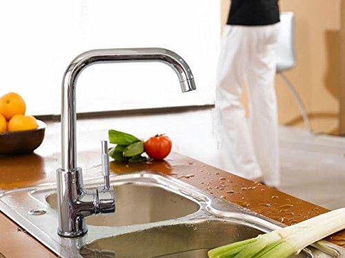 [mia.home®]Waschtisch Wasserhahn Wasserarmatur Küchen Spültisch Armatur 1987