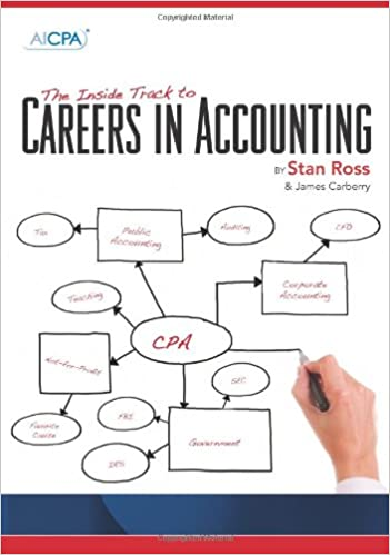 The inside track to careers in accounting Book Cover