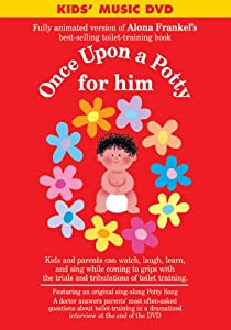 Once Upon a Potty for Him DVD by Barron's Educational Series