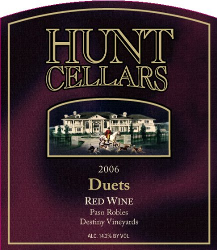 2006 Hunt Cellars 'Duets' Red Blend, Paso Robles 750 Ml