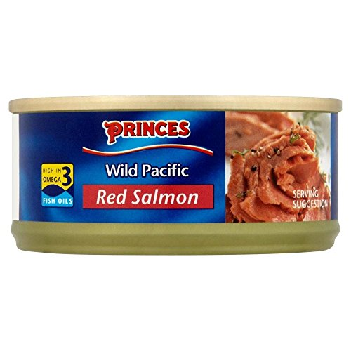 Princes Wild Pacific Red Salmon (105G)