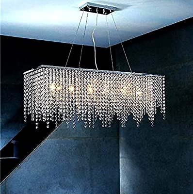 BLYC- Continental design Personality Chandelier creative interior light Crystal waterfall Chandelier 800180120 (mm)