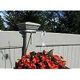 Vinyl Fence Plant Amp Accessory Post Hanger White 8 5