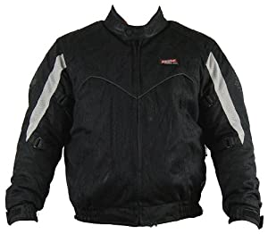 Vega Merit Mesh Jacket (Black, Small)