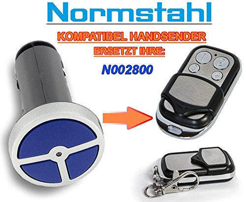 NORMSTAHL N002800 Kompatibel Handsender, 433.92Mhz rolling code keyfob