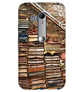 Kingcase Printed Back Case Cover For Motorola Moto G Turbo Edition - Multicolor