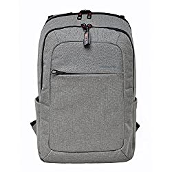 Kopack Slim Business Laptop Backpacks Waterproof Travel Rucksack Daypack with Tear Resistant Design Travel Bags Knapsack fits up to 15.6 Inch Laptop Macbook Computer Backpack in Gray