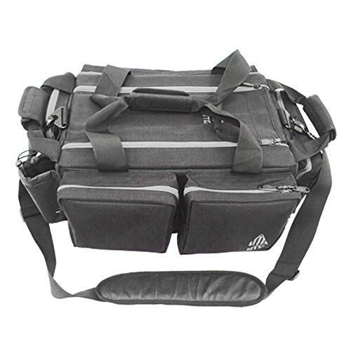 UTG All-in-1 Range Bag, Black/Silver (3 Gun Range Bag compare prices)