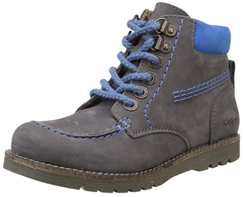 KickersHaikraft - Stivali Rangers alla caviglia Bambino , grigio (grigio), 38 EU