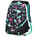 High Sierra Loop Backpack Bejeweled/Black/Aqua