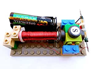 Simple electric reed switch motor kit 11 for Motor kits for kids