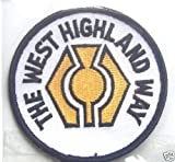 THE WEST HIGHLAND WAY- SCOTLAND-EMBROIDERED PATCH BADGE-MILNGAVIE TO FORT WILLIAM