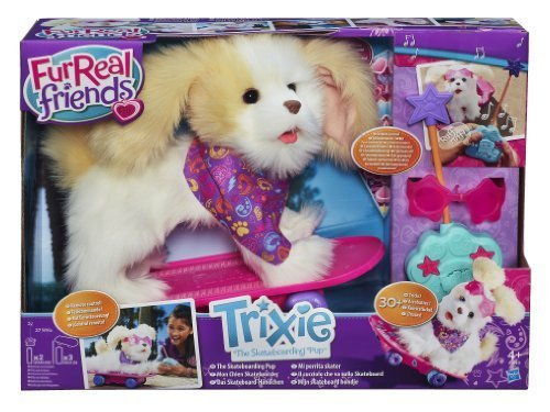 Furreal Friends - A1649E240 - Peluche - Mon Chien Skateboarder by Hasbro