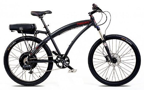 Prodeco Phantom X3 2014 Rigid Frame Electric Mountain Bike from Shocking Rides