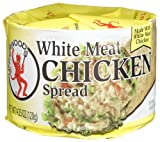 51XzPdqWeZL. SL160  Underwood Chicken Spread, 4.25 Ounce Cans (Pack of 24)