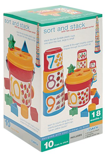 Toysmith Battat Sort and Stack Toy