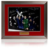 Manchester United 1968 European Cup Final photograph signed by 6 players(PP434)