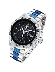 Armourlite ShatterProof Scratch Resistant High Impact Glass Police Blue Edition H3 Tritium 100m Watch