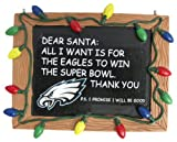 Philadelphia Eagles NFL Football Chalkboard Holiday Christmas Ornament Amazon.com