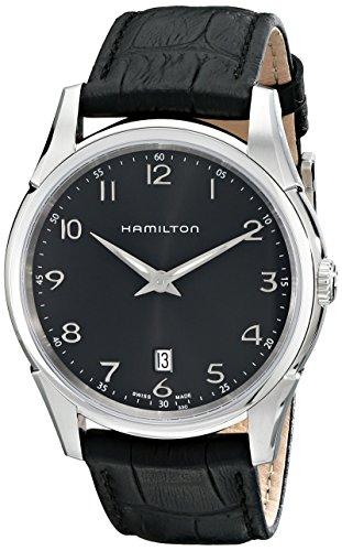 Hamilton H38511733 - Reloj para hombres, correa de cuero