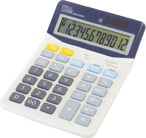 Nakabayashi calculator desktop standard L ECD-2103T