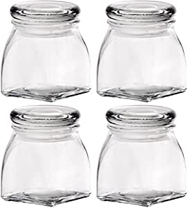 Home Essentials 608 Complete Kitchen 4.3 Oz Spice Jars, Set of 4