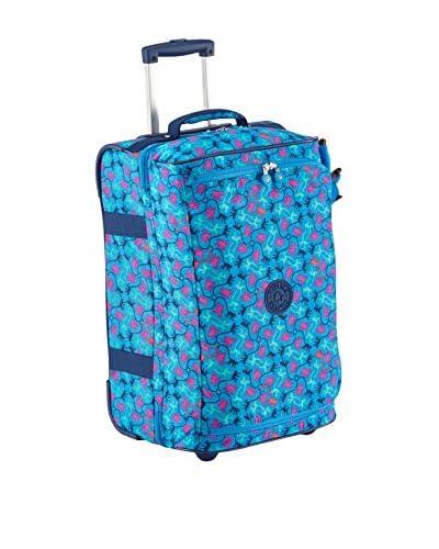 Kipling Trolley semirrígido K13094B23 Azul 55 cm