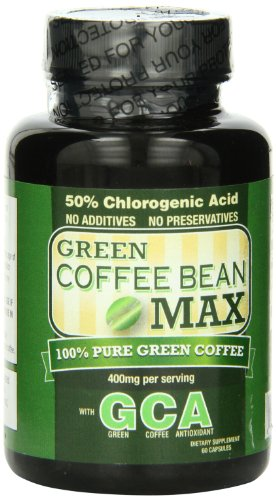Green Coffee Bean Max - Pure Green Coffee Bean, Weight Loss, Fat Burner, 100% Pure, Top Rated Formula, All Natural, Green Coffee Extract