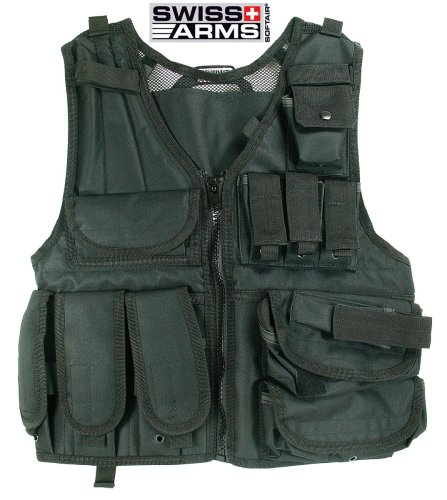 SoftAir Swiss Arms Tactical Airsoft Vest