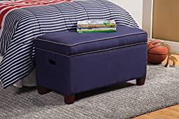 Coaster 405019 Home Furnishings Storage Bench, Royal Blue