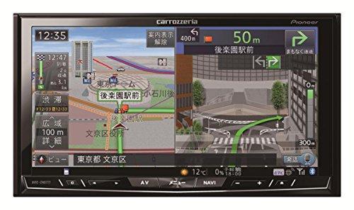 Pioneer  7V型ワイドVGA地上デジタルTV/DVD-V/CD/Bluetooth/SD/チューナー・DSP AV一体型HDDナビ AVIC-ZH0777