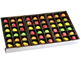 Bergen Marzipan - 54-Piece Assorted Fruit Box