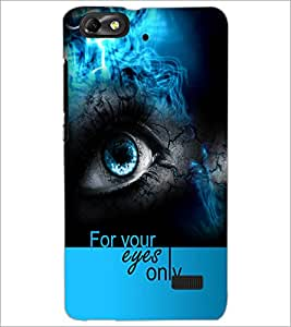 PrintDhaba Quote D-5938 Back Case Cover for HUAWEI HONOR 4C (Multi-Coloured)