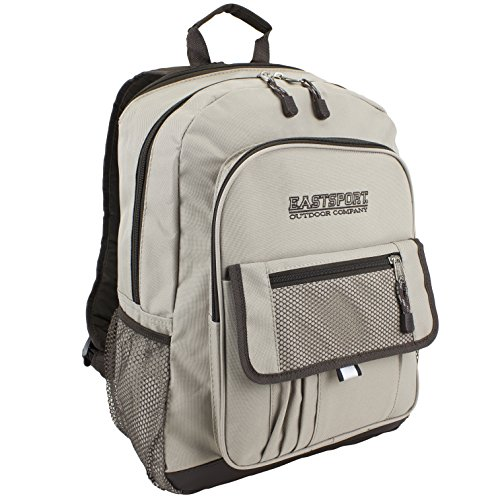 eastsport-tech-backpack-tan
