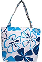 Graphic Floral Print Design Tote Shoulder Bag for women